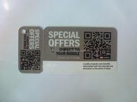 Variable data printing custom membership cards