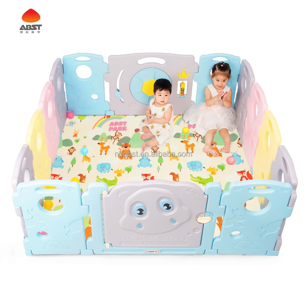 EN71 standard new design baby playpen