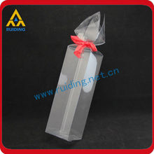 customized clear plastic folding case