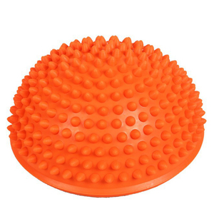 Wholesale Sports Half Yoga Ball Fitness  Equipment Gym Workout Training Exercise Fitness Balance half Massage Ball