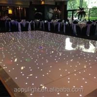 Guangzhou factory cheap portable led dance floor light 3d weight led dance floor for disco