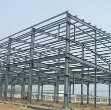 Installing steel structure building for supermarket/shopping mall and Plaza