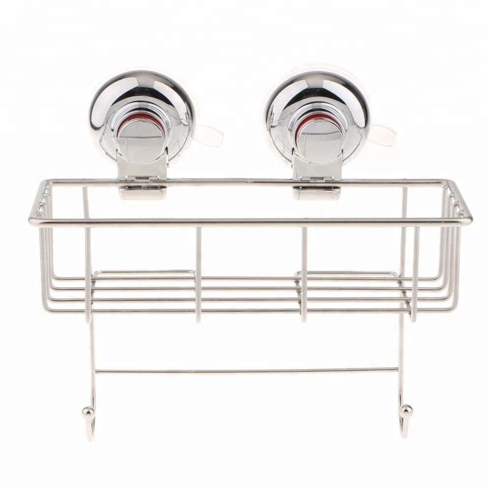 Metallo Sotto Mensola Hanging Storage Bin Cestino con Apertura Sul Davanti per L'organizzazione di Mobili Da Cucina, Armadi, Dispense, Scaffali