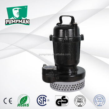 TPS400 2015 PUMPMAN new good quality cheap 400w domestic electric centrifugal 15 meter submersible water pump
