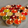 flameless beautiful tealight candles for parties on sale