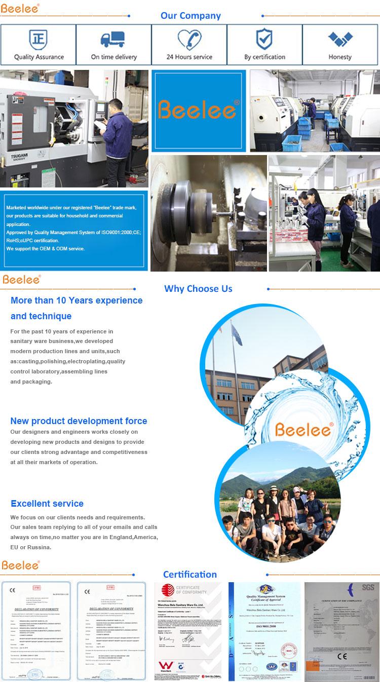 Beelee BL0108F Led sin contacto cocina grifo automático Sensor sin contacto táctil grifo para fregadero de la cocina caliente y fría grifo