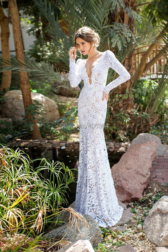 2b9c5d6b30 Turmec » white lace open back long sleeve dress