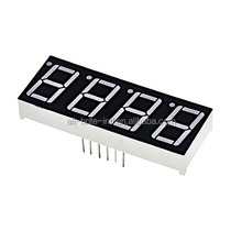 0.56 inch 4 Digit Red LED Display 7 segment lcd display 4 digit