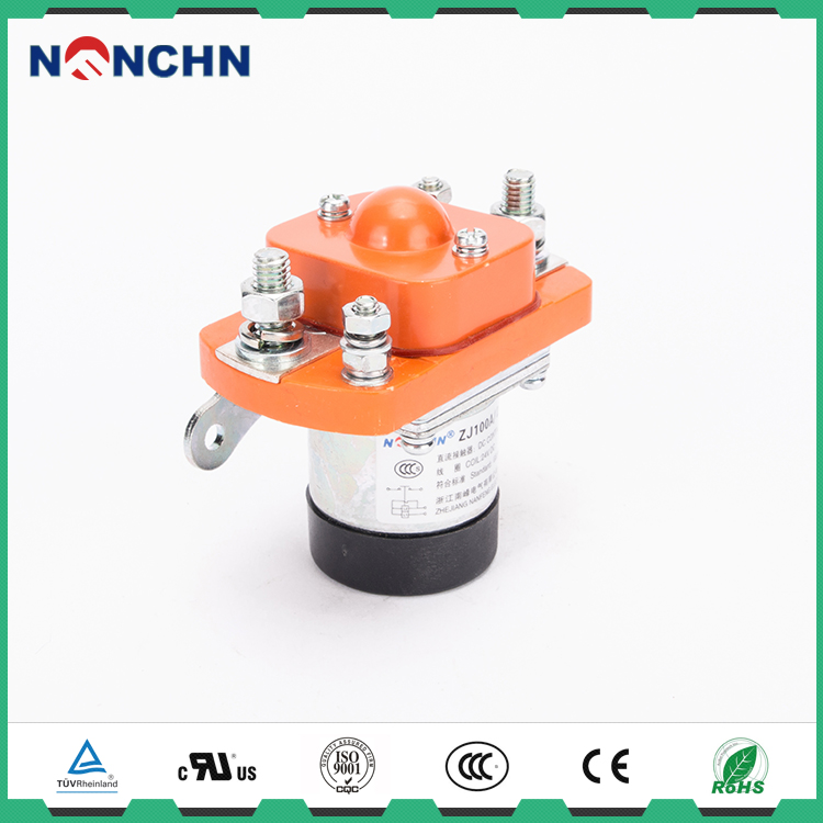 NANFENG All Export Products 1 Phase 1 Pole DC Coil Power DC Contactor 100A