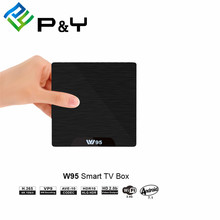 Stb (set top box) W95Set Top Box Vangelo Prezzo S905W Android 7.1G DDR3 8G <span class=keywords><strong>Nand</strong></span> <span class=keywords><strong>Flash</strong></span>