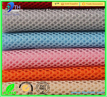 quality mesh fabric sandwich /polyester cotton dyed fabric