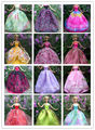 10 Pcs Doll Dresses Handmade Gown Dress Clothing For Barbie Doll Free shipping Different Colors Styles