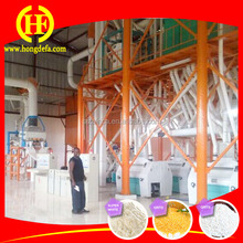Hot selling maize grain processing machine/maize flour processing machine price