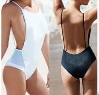 White and black Girls Swimwear One Piece Swimsuit Female Swimming Suits Bathing Suit Swimsuit
