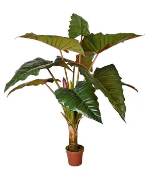 buatan hijau tanaman philodendron di pabrik harga untuk