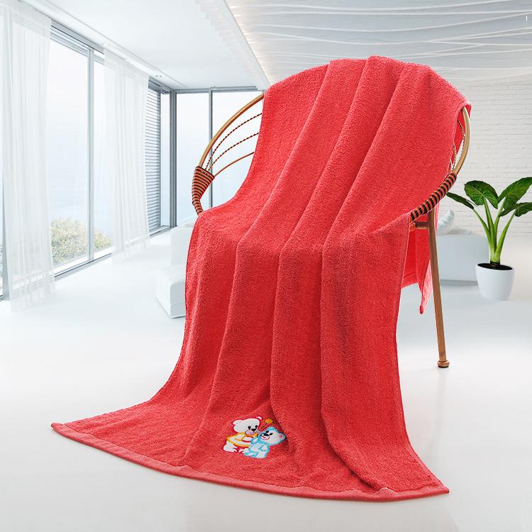 Süper yumuşak yüksek kaliteli kişiselleştirilmiş tezgah banyo havlusu