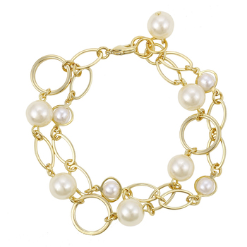 0eecef9fcb4 74473 xuping popular beaded bracelets,14k gold plated beaded women's  bracelet