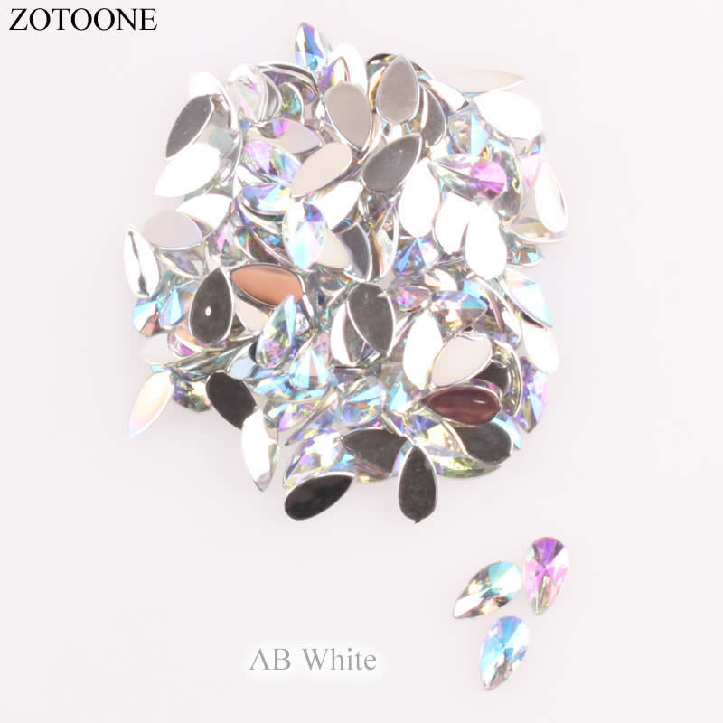 Detail Feedback Questions about ZOTOONE 50PCS 8 13mm Shiny Crystal ... 01456615c9b9