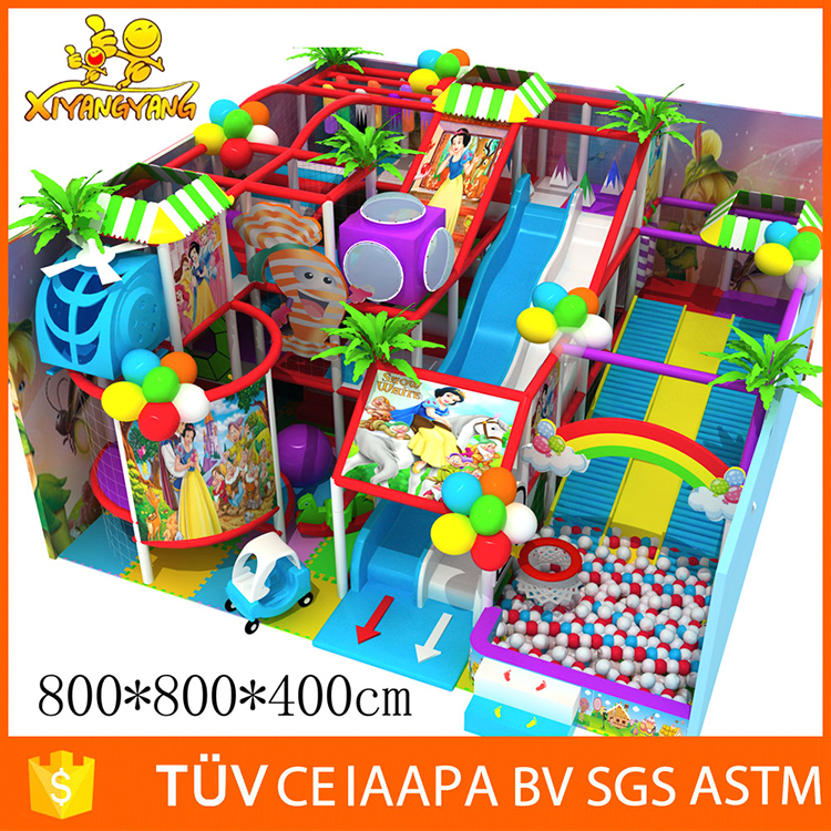 Candyland kids indoor kids playground indoor soft play for Indoor soft play area for sale