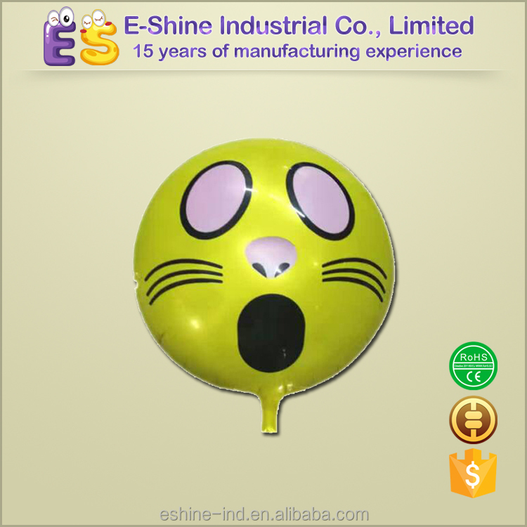 round emoji funny face emotionfor party decoration