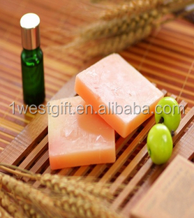soap press,Natural olive oil red vesuvianite soap bar(wzGL004)