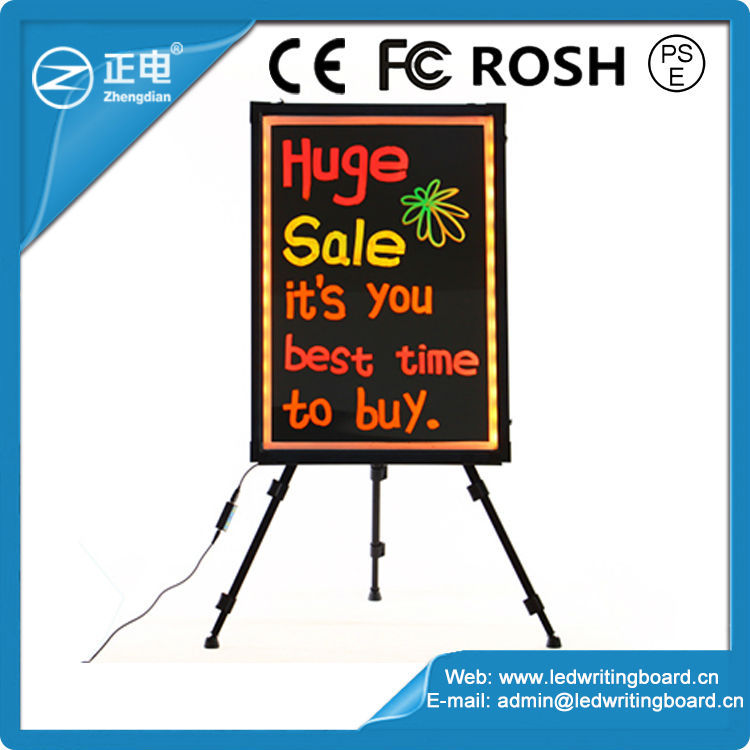 Glow in the dark led writing board wholesale importer of chinese