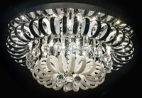 Modern Nini Crystal Chandelier For High Ceilings Fancy Lights ...