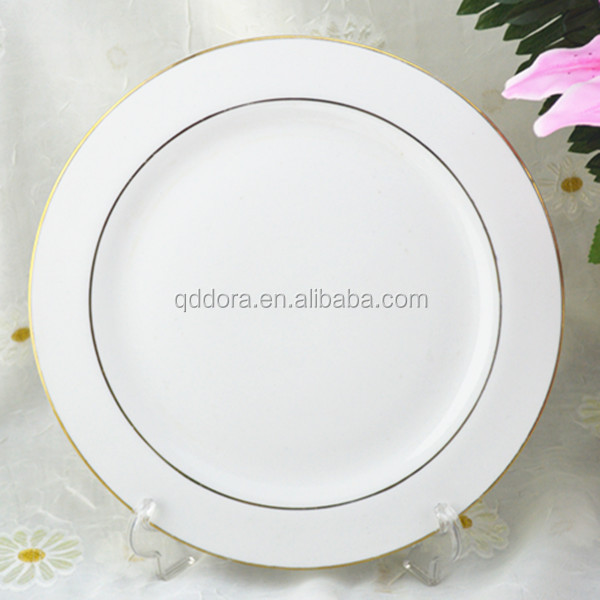 "10.5"" plate ceramic,dinner plates for weddings,wedding charger plate"