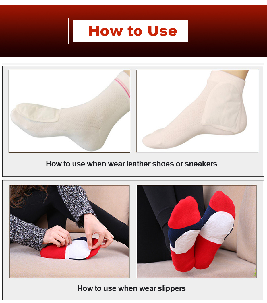 OEM Herbal heating pad feet Insoles heating pad foot warmer patch
