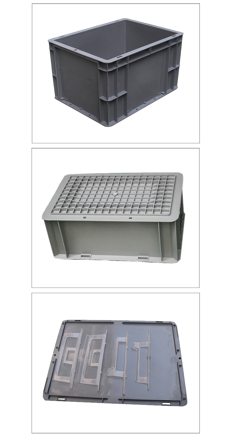 EU type large plastic storage container
