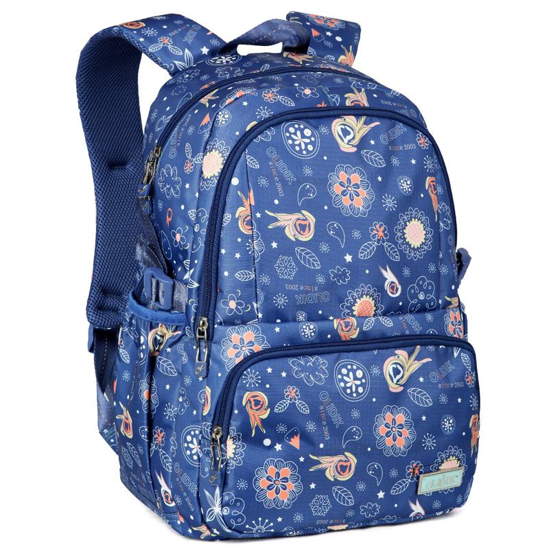 New brand middle school students school bag kids high quality waterproof laptop backpack Escolar bolsas mochila for boys girls