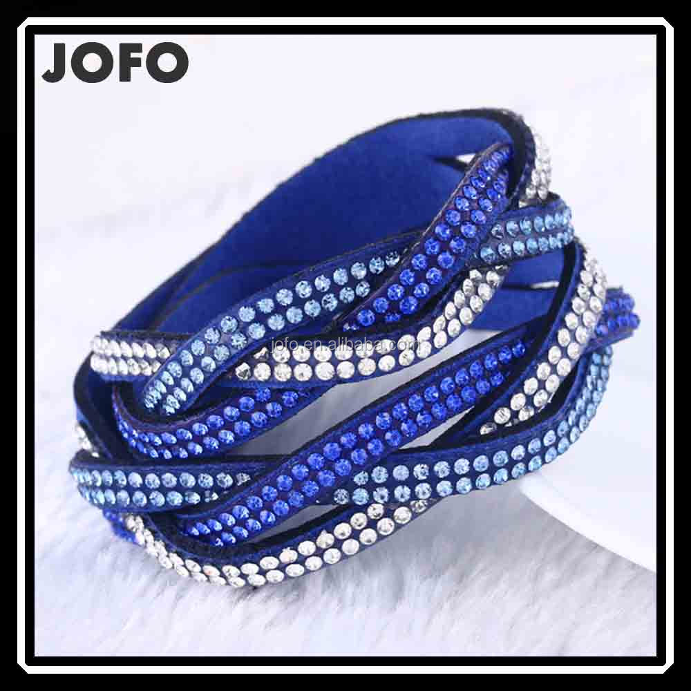 3bb-006 Breslate Design Fancy Woven Bracelet 2017 Wholesale Wrap ...