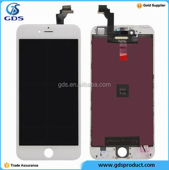 White LCD Display With Touch Digitizer Screen Assembly For iPhone 6 Plus