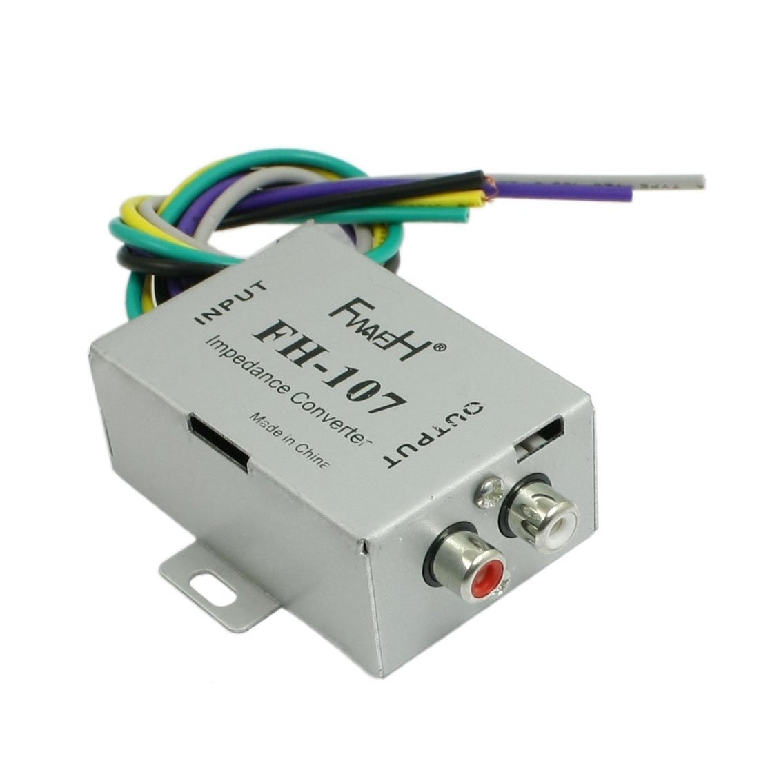 Cheap Rca Car Amplifier Find Deals On Line At How To Hook Up A Get Quotations Speaker Audio High Low Impedance Converter