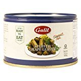 Galil Home Style Stuffed Grape Leaves Non GMO 14 Oz. Pack Of 3.