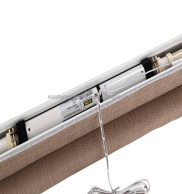 Rolo el trica cego componente do motor de curtian for Do it yourself motorized blinds