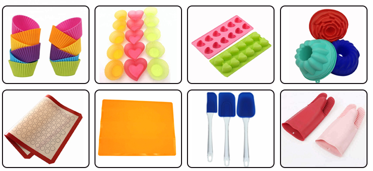High Quality non-stick 100% food grade silicone baking mat