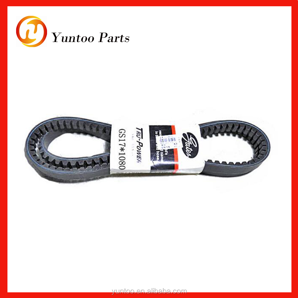 Gates automotive v belts , V17*1080