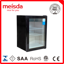 Upright showcase supermarket refrigerator and freezer for sale