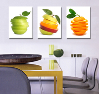 Wholesale High Quality 3 Panel Wall Decor Art Linen Canvas Painting