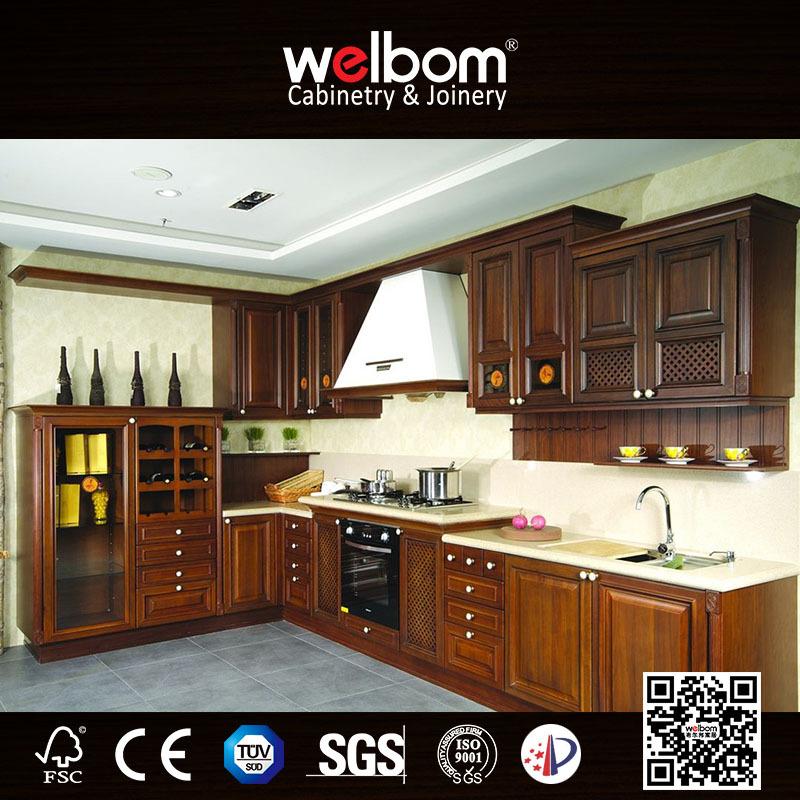 New Arriving Full Set Wooden Kitchen Cabinet Door Designs