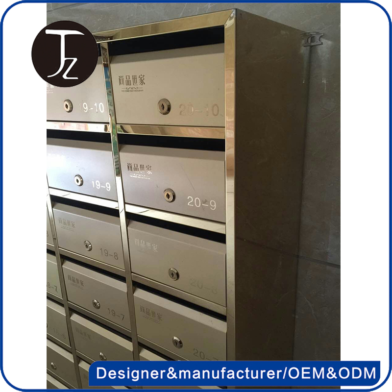 Cheap price China foundry oem customized pedestal Mailboxes