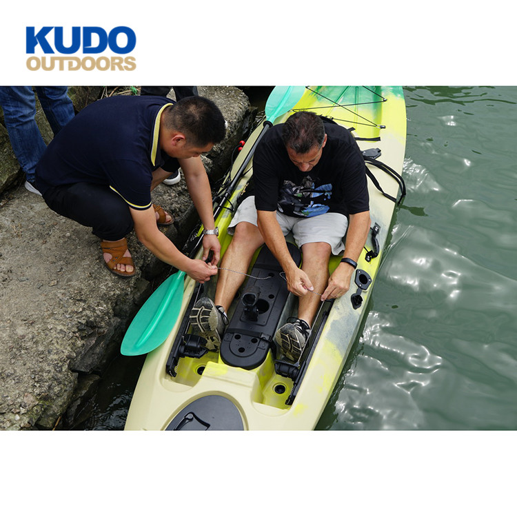 Kudo Outdoors Oem Order Single Used Kayak Fishing With Rod Holder Foot Pedal For Sale Buy Kayak Fishing Used Used Kayak Fishing Kayak Fishing Foot