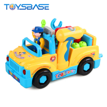 2018 Hot Sale Electric Plastic Tool Truck Toy For Kids