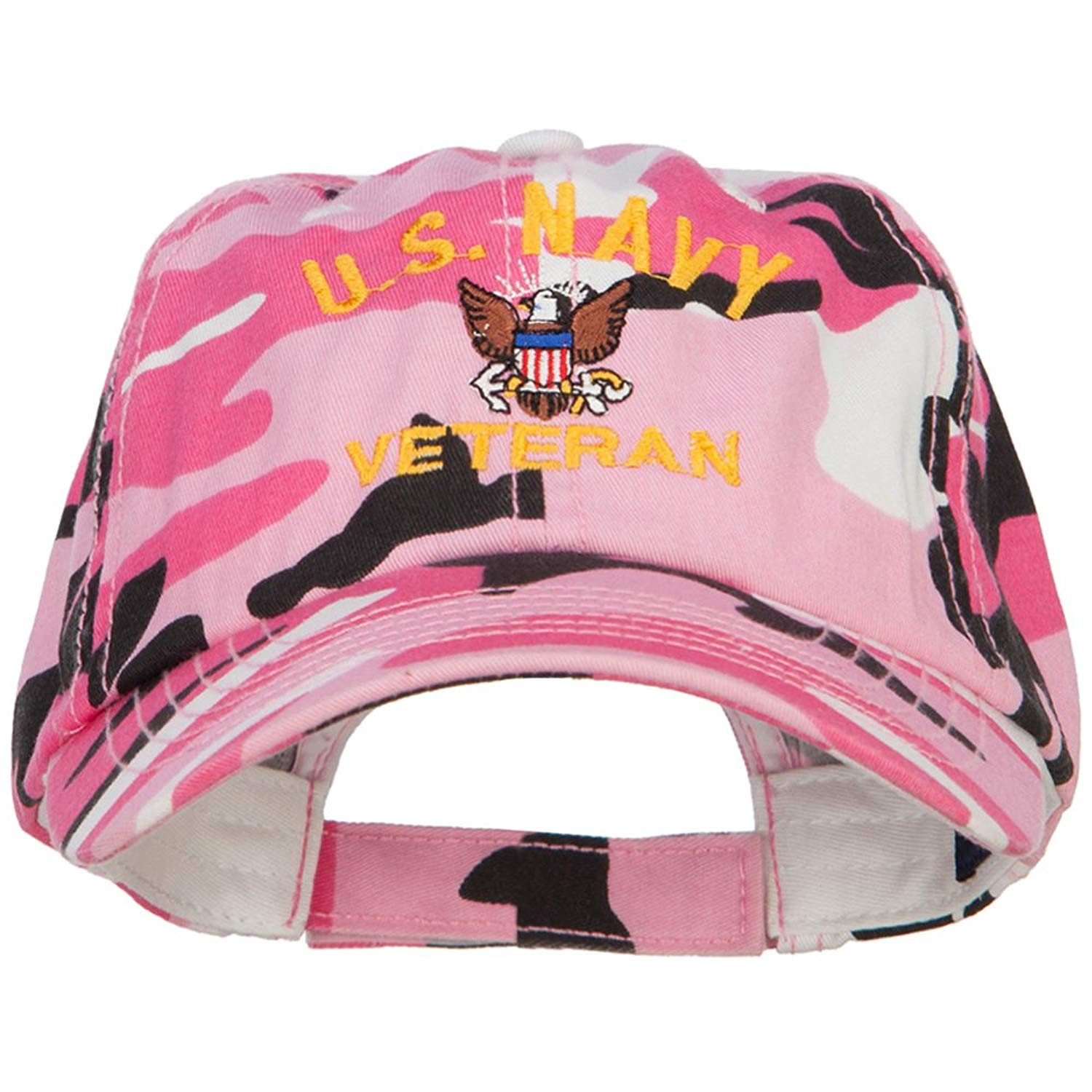 72b6a302e61a0 Get Quotations · E4hats US Navy Veteran Military Embroidered Enzyme Camo Cap