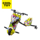 2018 Cooltoy New Kids Three wheels electric scooter drift trike with LED light