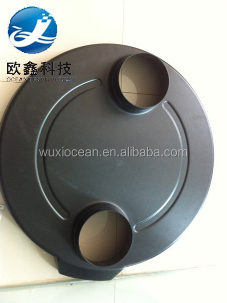 Al mould Produce Thermoforming Black Plastic Cover