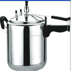 Polished Aluminium Pressure Cooker With Inner Lid