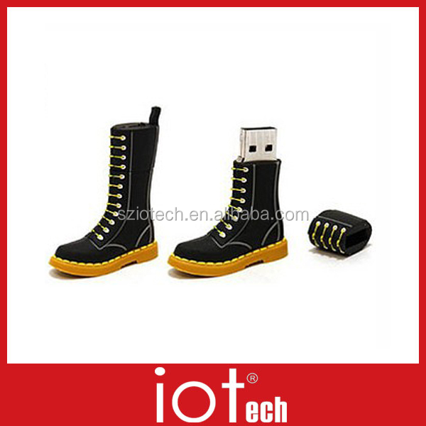 Custom Funny Shoes shaped USB in Factory Price