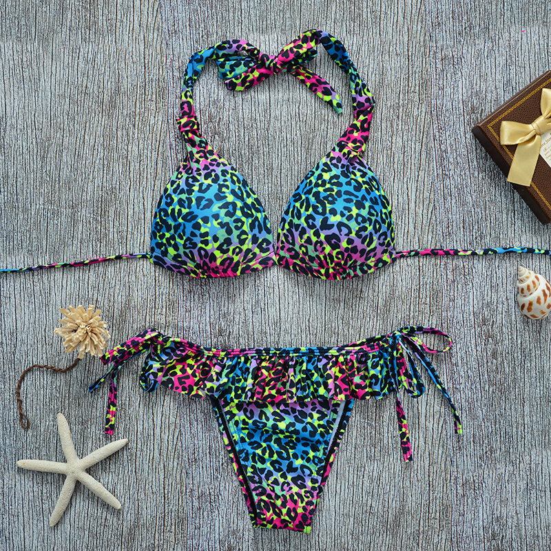 2017 Women Dot Bikini Swimwear Manufacturers In Bali